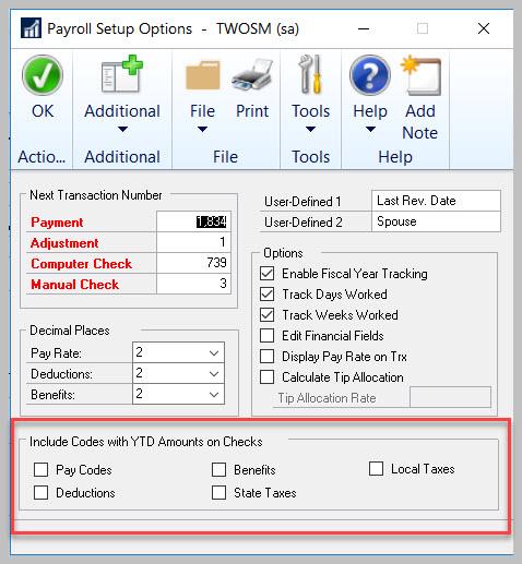 GP #LifeHacks 147: Show Unused Codes On Paystub With YTDInformation!