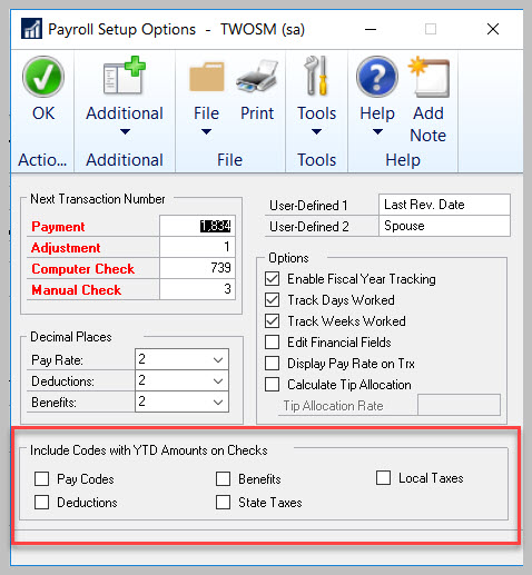 GP #LifeHacks 147: Show Unused Codes On Paystub With YTD Information!