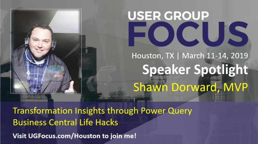 Come see me at FOCUS 2019!!#UserGroupFocus