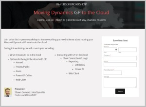 Moving Dynamics GP to the Cloud?